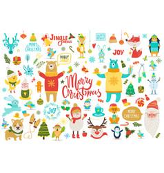 Merry christmas jingle bells vector