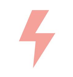 dangerous energy hazard symbol to security vector image vector image