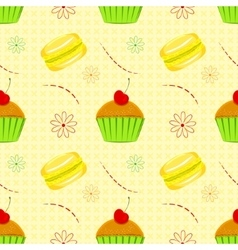 Dessert food pattern seamless patterns vector
