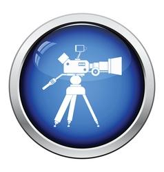 Movie camera icon vector image