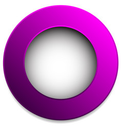 Colorful circle badge button pin label element vector