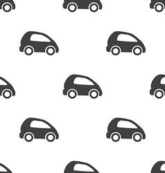 mini car seamless pattern vector image