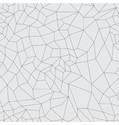 mosaic black grid on a gray background vector image