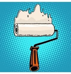 Paint rollers repair vector image
