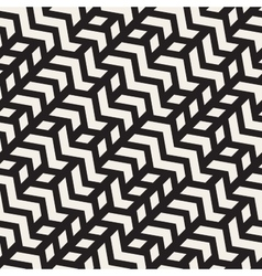 Seamless Geometric ZigZag Diagonal vector