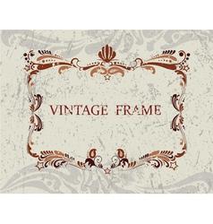 Vintage Frame3 vector image