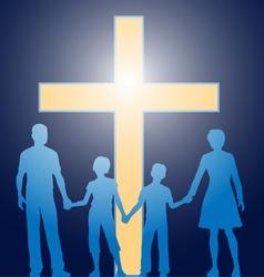church family vector image vector image