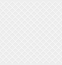 rhombus white seamless pattern vector image vector image