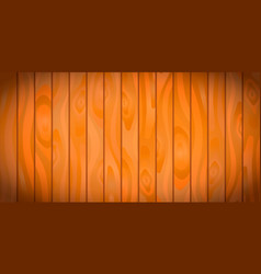 bright realistic wooden boards with texture vector image