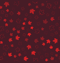 Canada seamless pattern happy canada day vector
