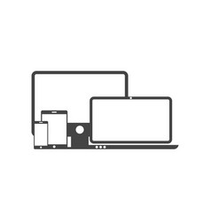 gadget icon graphic design template vector image