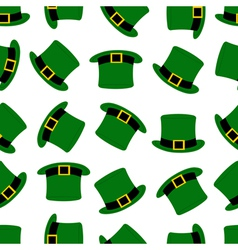 Seamless hats background vector
