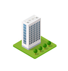 smart building home vector image