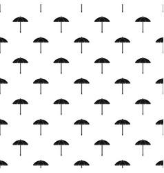 Sun umbrella pattern vector