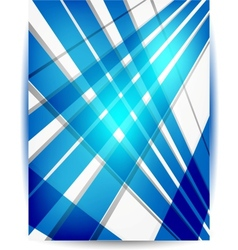 Abstract header blue vector image