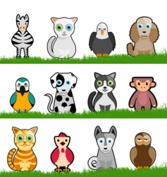 animals vector image vector image