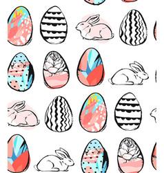 hand drawn abstract creative universal vector image vector image