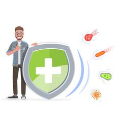 Boost immune system protection against virus vector
