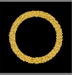 golden leaf symbol triumph vector image