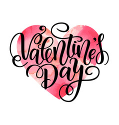 happy valentine s day card greeting card vector image
