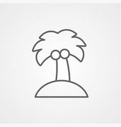 invitation card icon sign symbol vector image