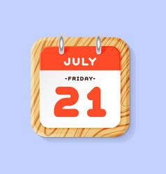 calendar web icon office organizer business vector image vector image
