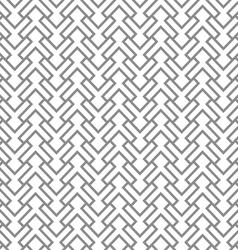 Grey geometric intricate seamless pattern vector