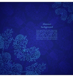 abstract flower background Your presentation vector image