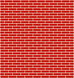 Brick wall texture with small bricks vector