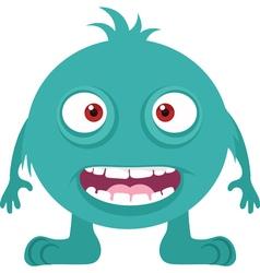 Happy Monster Icon vector