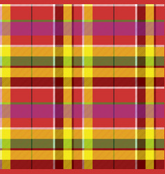 Madras colored plaid diagonal fabric texture vector