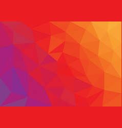 orange low poly style abstract vector image