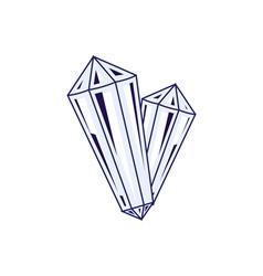 Crystal-380x400 vector image vector image