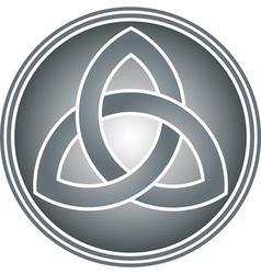 celtic trinity knot vector image