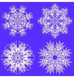 Snow Flakes vector image vector image
