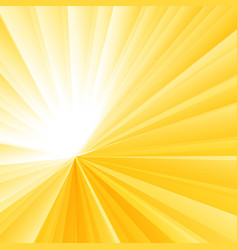 Abstract light burst yellow radial gradient vector