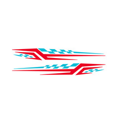 Car bike vehicle graphics vinyls decals vector