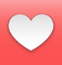Heart paper concept vector