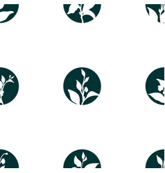 Pattern sprout vector