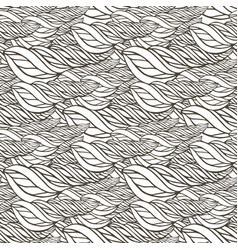 pattern with abstract wave ornament adult vector image