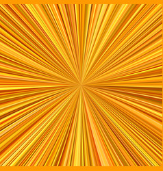 orange explosion background from radial stripes vector image vector image