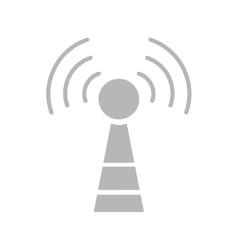 antenna communication technology vector image