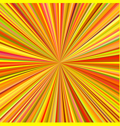abstract ray burst background vector image