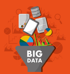 Big data process analysis filter information vector