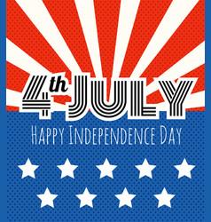 celebration independence day vector image