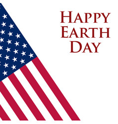 Earth day in the united states vector