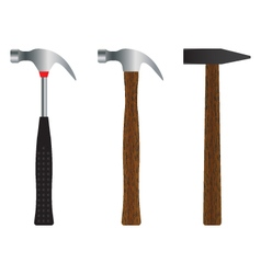 Hammer Different versions vector