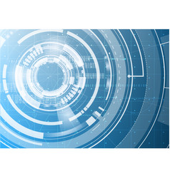 technological abstract modern cyber digital vector image