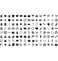 Icon Collection vector image vector image