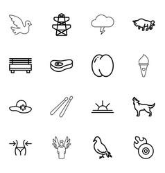16 logo icons vector